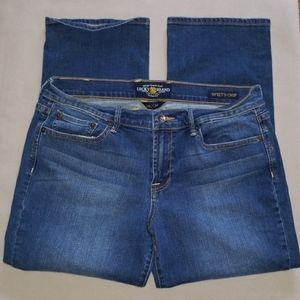 Lucky Brand Woman's Sweet 'N Crop Jeans Sz 10